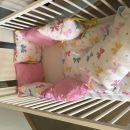 posteljica 120x60 posteljnina in obroba jogi