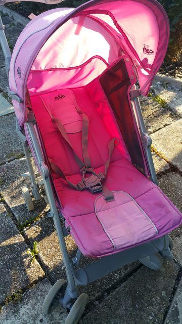 Voziček marela Cam, 2 dežnika + nosilec - foto