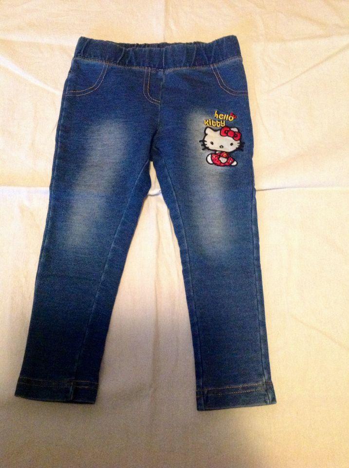 Jeans pajkice hello kitty