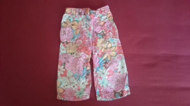 Poletne hlače za deklico, 2-3 leta, Next