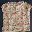 Bluzica, srajčka, kratek rokav, H&M, št. 104, 3-4 leta