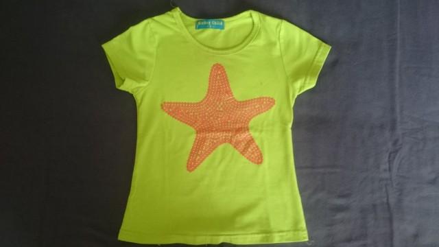 Majica za deklico, kratek rokav, Nickey Child, 3-4 leta