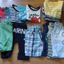 komplet 20 oblačil - 10€ (1-2 leti)