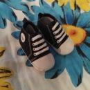 Novi čevlji za fantka 6-10 mes nd 12sm