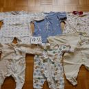 otroška oblačila- poletna, prehodna 50,56 62