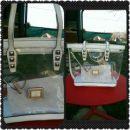 Guess poletna bela-prozorna torbica+notranja mini torbica
