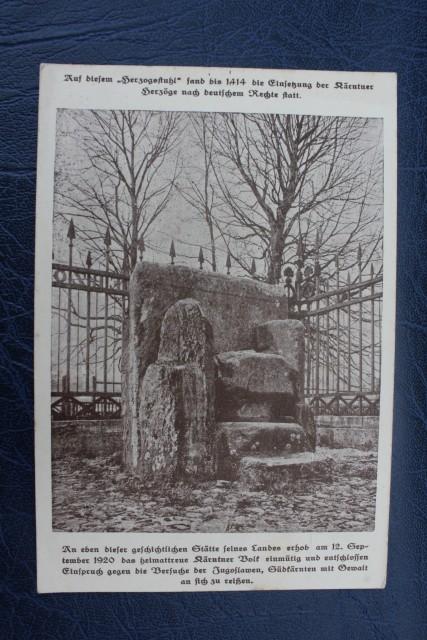 Volksabstimmung 1920 postcards - foto