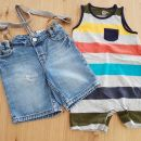 Gap romper in H&M jeans hlače z naramnicami