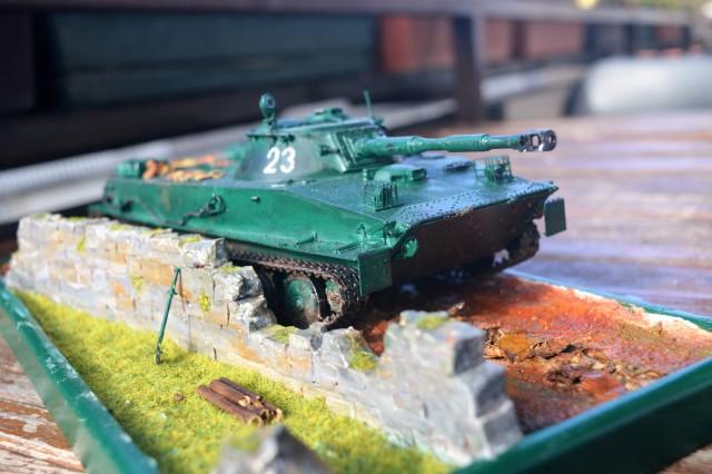 Tank PT-76 - foto