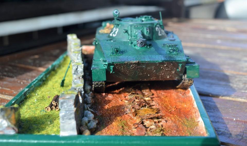 Tank PT-76 - foto povečava