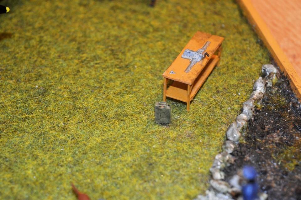 Spitfire - diorama - foto povečava