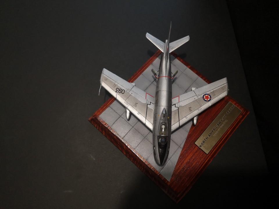North American F-86F/E(M) - foto povečava