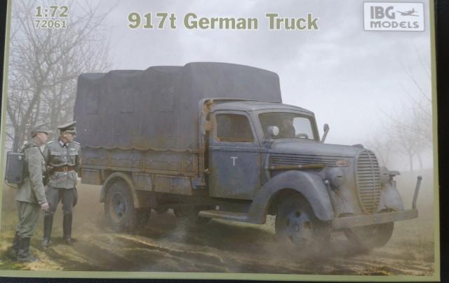 917t German Truck - foto