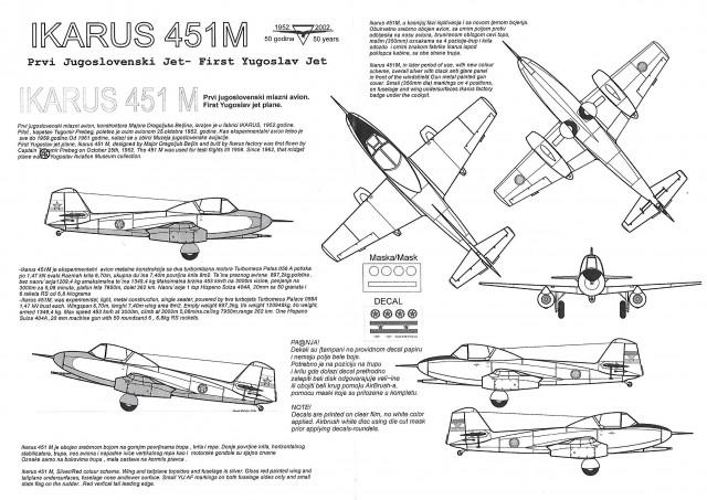 Ikarus 451 M - foto