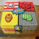 Torta Marvel