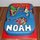 Torta LEGO Chima