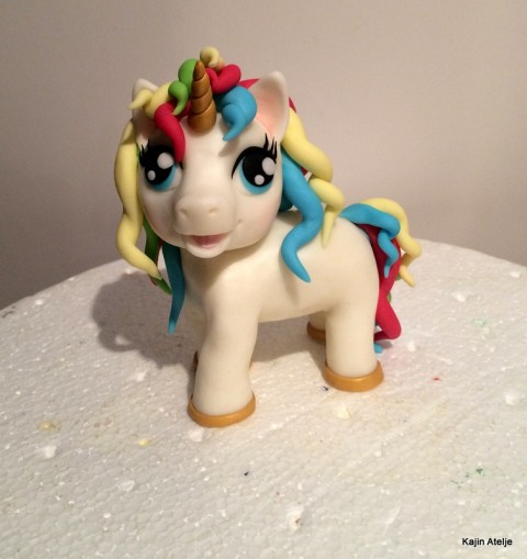 Figurica za torto samorog