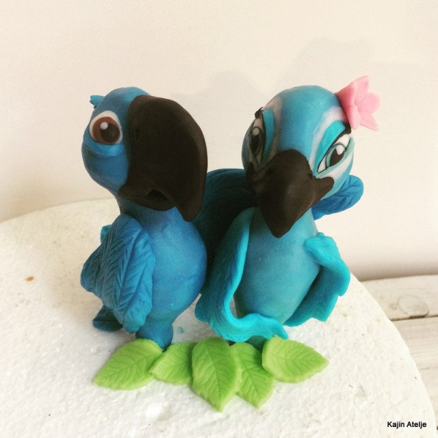 Figurica za torto Rio in Jewel