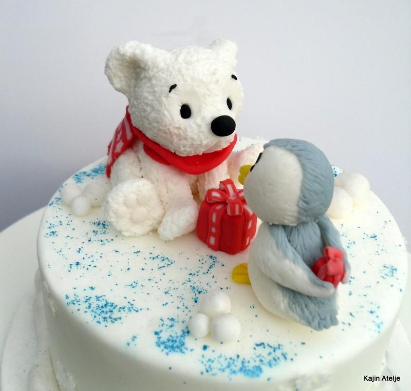 Figurica za torto medvedek