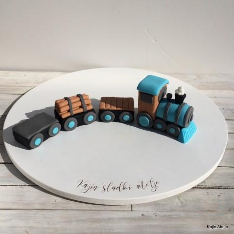 Figurica za torto vlakec