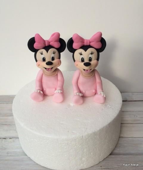 Figurica za torto Minnie miška dojenček