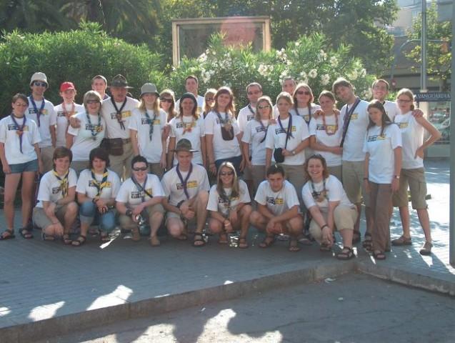 Scout expedition-Španija in Portugalska 2006 - foto