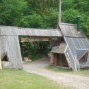 vhod v tabor in stražarnici
