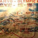 Srbski položaji okoli Sarajeva v času vojne v BiH