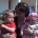 teta Leni,sestrična Taja in jaz