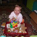 Zdaj so moje igračke še pospravljene, že čez nekaj trenutkov pa...