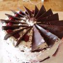 Čokoladni trikotniki na vrhu