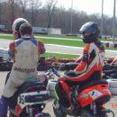 Tomaž in Gapi sta čakala, da kartisti končajo svoj trening ;)