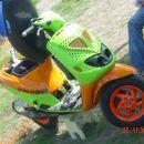 Tomažev skuter s SUPER barvami :P