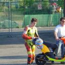 Andreo Spadaro z očetom :)