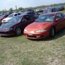 Lep clean Eclipse & zelo lepo in precizno pobarvan Civic coupe (za spremembo od 300ZX :D)