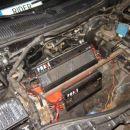 hibridni elektro-vodikov motor v SW20ki, ki se je prišel pokazati na Nissan meet.