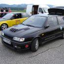 Sunny GTi z GTi-R haubo. Gospod ima doma še GTi-R samo je še v obdelavi (motor šel pa-pa)