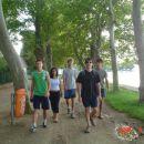 na sprehodu ob jezeru :)