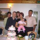 ...babica Zdenka, teta. Barbara, stric Ivan...