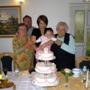 ...prababice Albina, Elizabeta in stric Silvo...