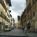 skozi Firenze z avtom