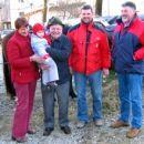 Pranono Tonca z družino