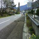 Prekopana glavna cesta