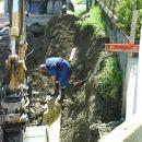 Počena vodovodna cev - 24.04.2008
