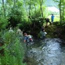 Junij 2009 - potok Idrija