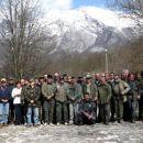 30.03.2008 - zbrani ribiči pred pričetkom čistilne akcije
