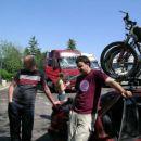 Nekje v Italiji med kamioni