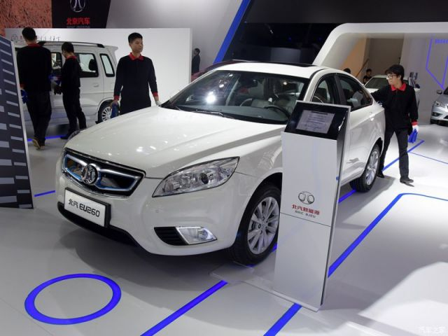 Image result for BAIC eu260