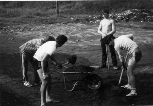 Igrišče Zavodne- Nekoč - foto
