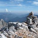 Vrh Štajerske rinke, nižje je Mrzla gora